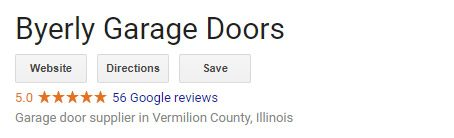 Byerly Garage Door Google Reviews