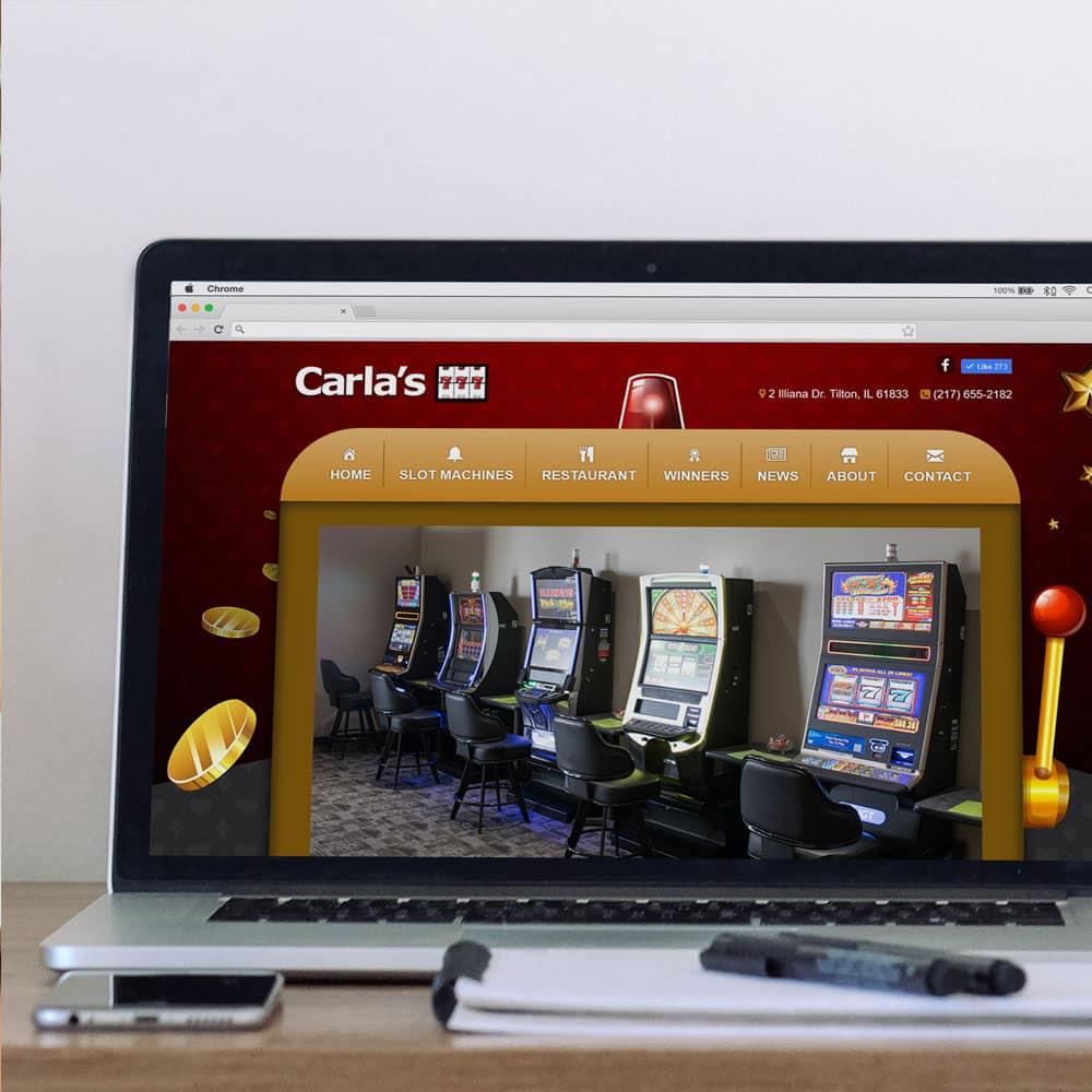 Carlas 777 Website Designed by Awebco