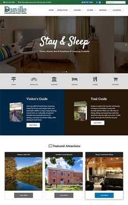 city website design