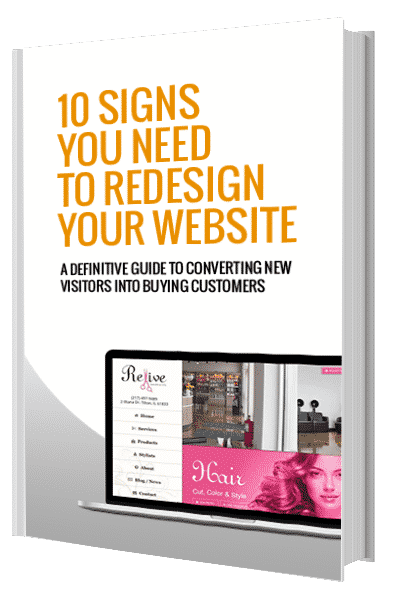 10 Signs You Need to Redesign Your Website eBook