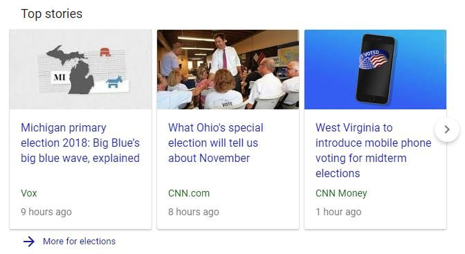 News Schema Example