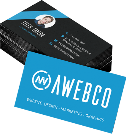 Business card Designer & Printing Danville, IL