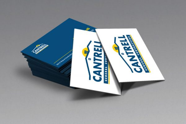 Cantrell General Contracting Business Card Design