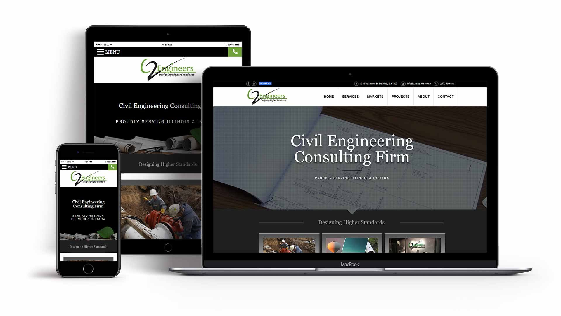 engineering-website-design