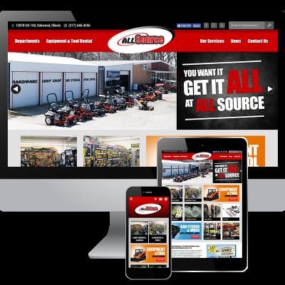 Responsive Website Design in Danville, IL