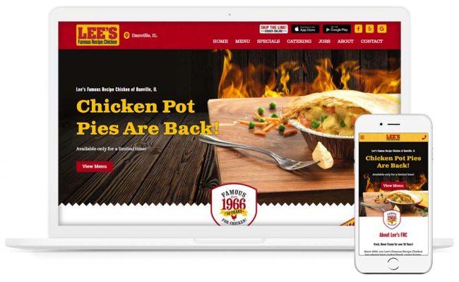 restaurant-website-design-danville-illinois
