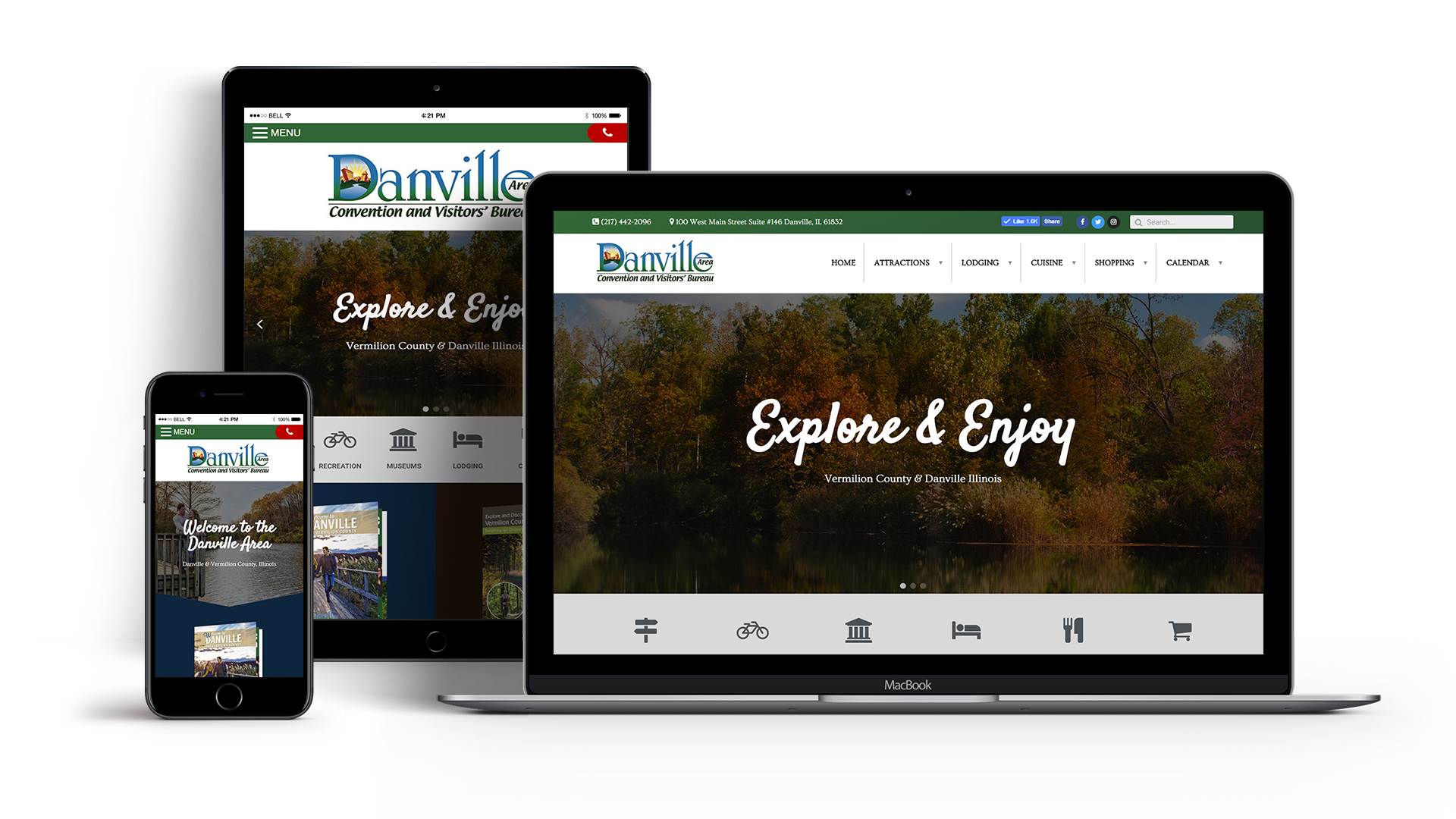 visit-danville-area-website-design
