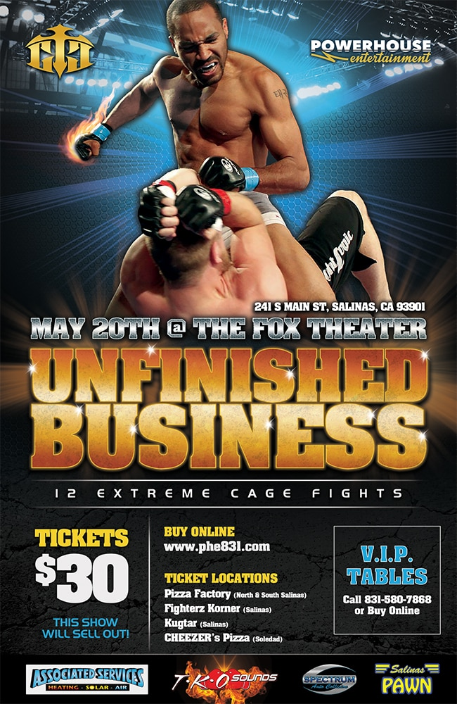 Powerhouse Entertainment Flyer by AWEBCO