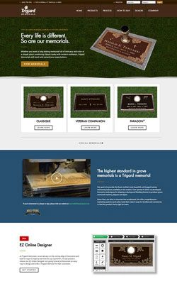 funeral website design