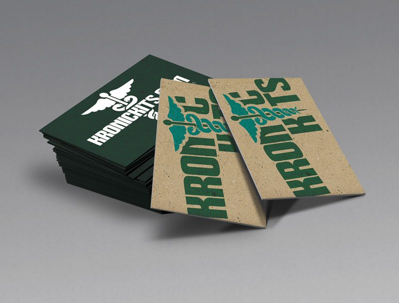 Kronic Kits Business Cards Designed by Awebco