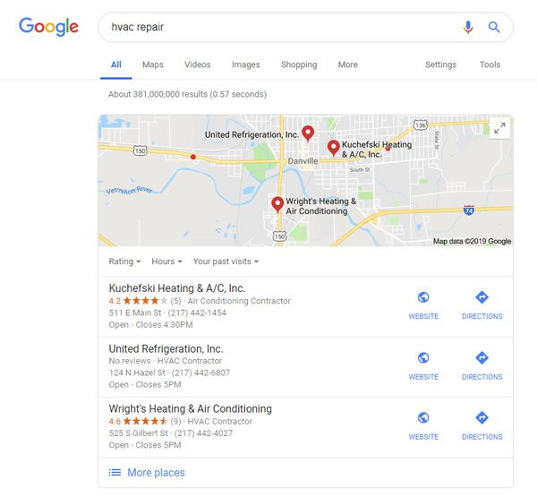 Local Citations - Google My Business