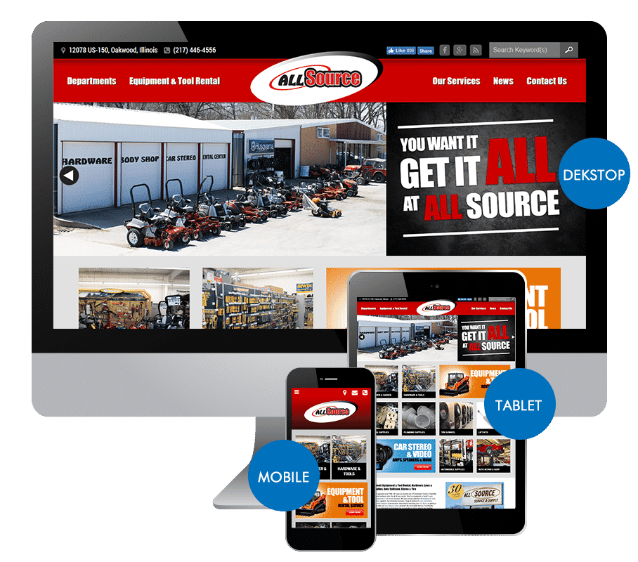 Responsive Website Design in Danville, IL
