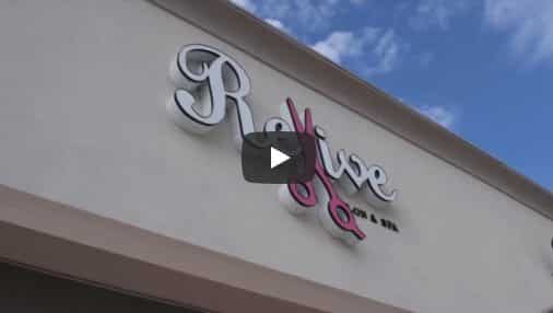 Revive Salon Custom Promotional Video