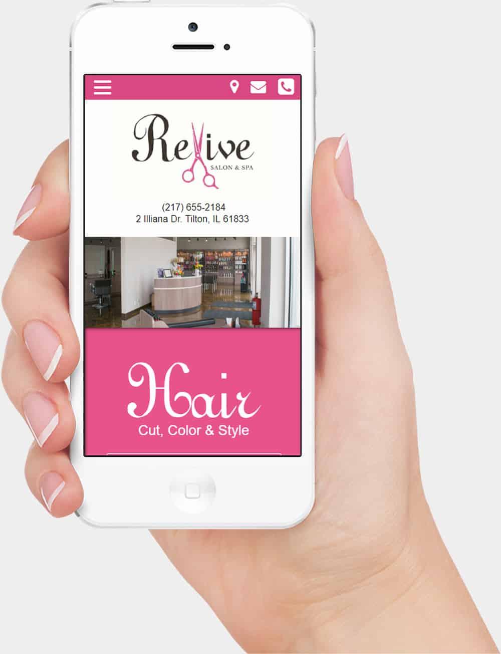 mobile website design illinois