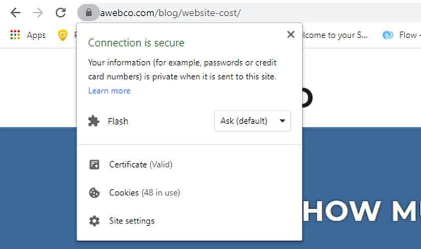 Valid SSL Certificate