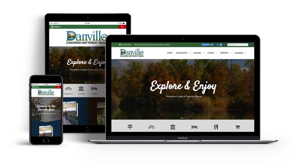 Custom Web Design Company in Danville, IL